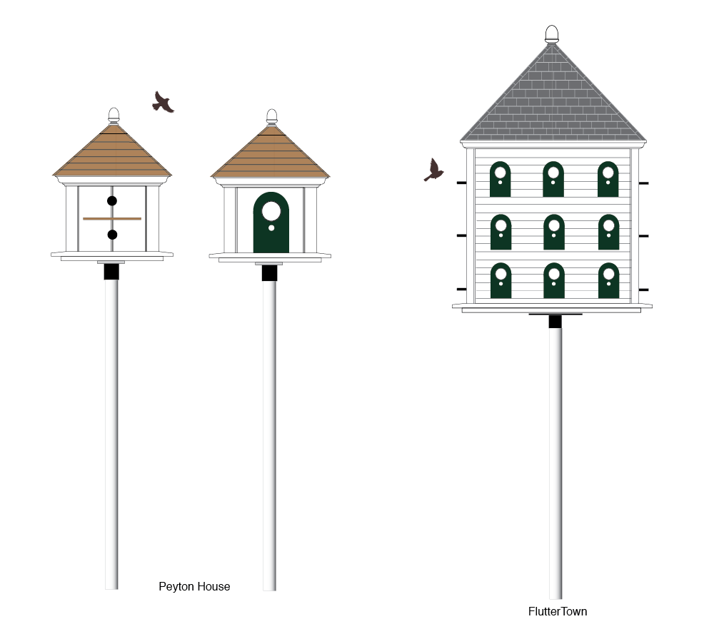 Out Buildings :: Bird Houses